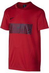Nike Rojo de Jovencito modelo DRY TOP SS ACDMY GX YTH Camisetas Polos