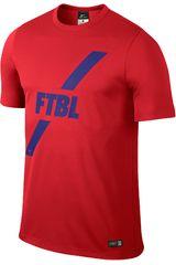 Nike Rojo de Hombre modelo ACADEMY GPX SS POLY TOP I Polos Deportivo