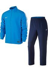 Buzo de Hombre Nike ACADEMY SDLN WOVEN WARM-UP Celeste / Azul