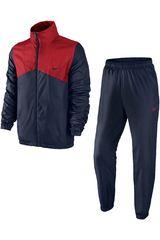 Buzo de Hombre Nike HALF TIME WOVEN TRK SUIT Negro / Rojo