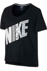Polo de Mujer Nike PREP TEE-MIXED Negro