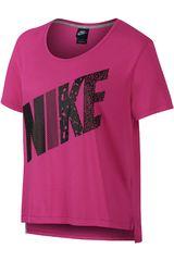 Polo de Mujer Nike PREP TEE-MIXED Fucsia