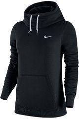 Polera de Mujer Nike CLUB FUNNEL HOODY Negro