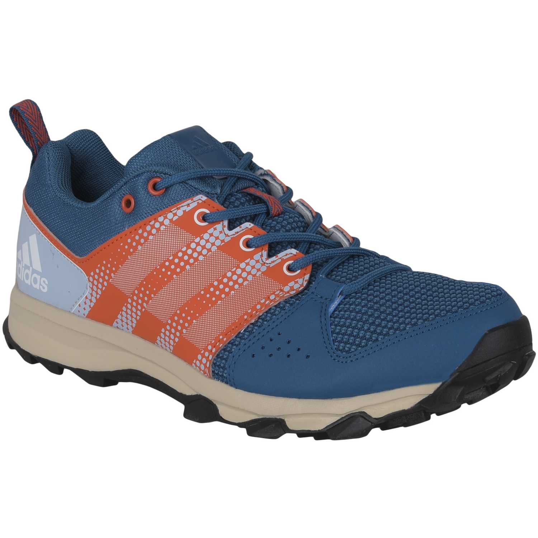 uk availability ed1bc f1b7b Zapatilla de Hombre adidas Celeste   Naranja galaxy trail m
