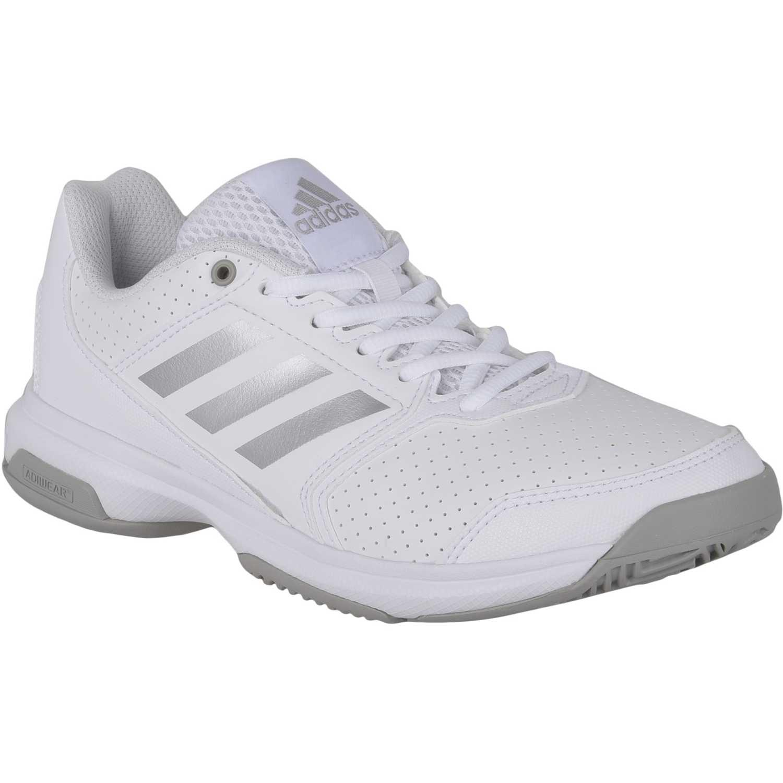 buy online b653a 01561 Zapatilla de Mujer adidas Blanco  Gris adizero attack w