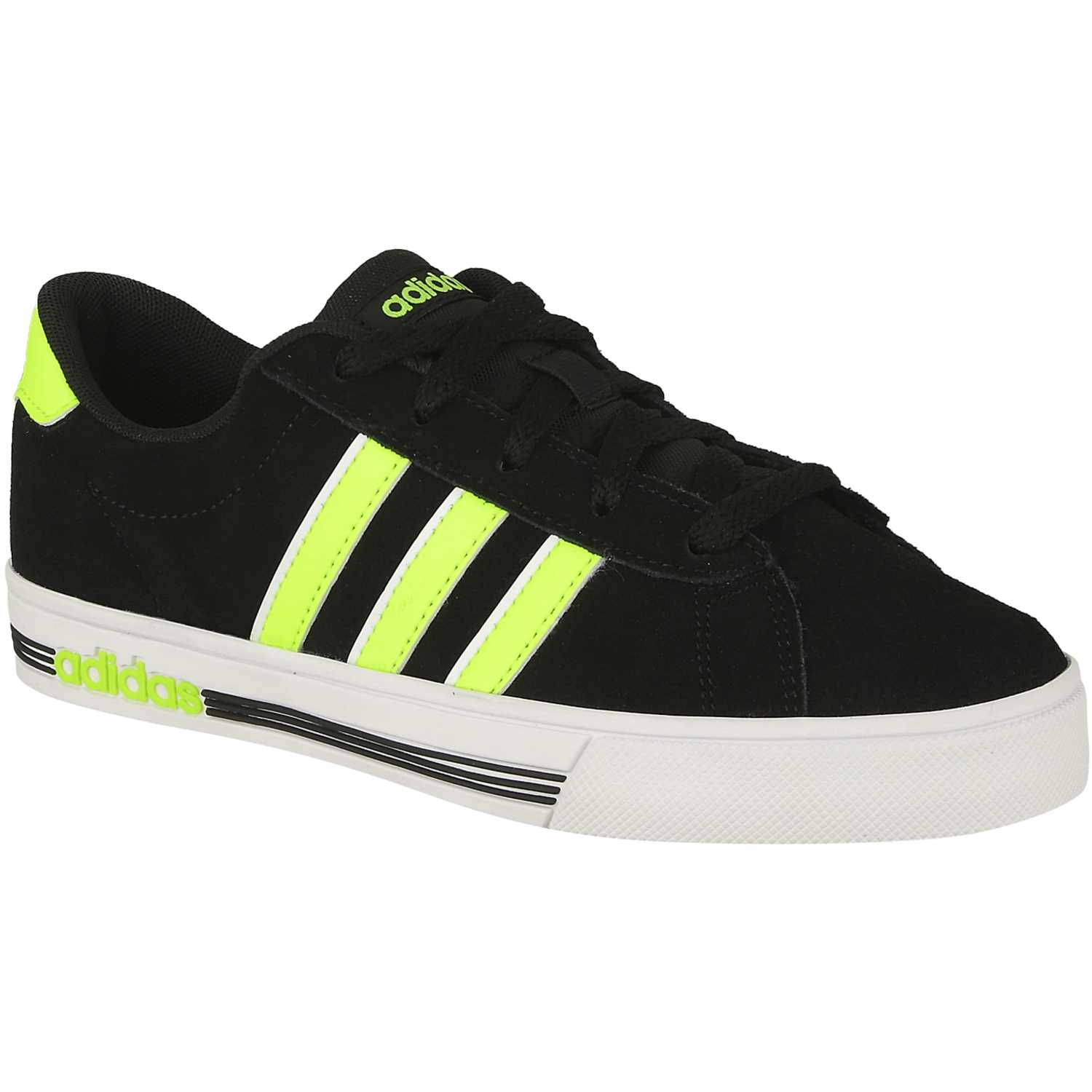 best authentic 70e43 8fc70 Zapatilla de Jovencito adidas NEO negro  amarillo daily team k