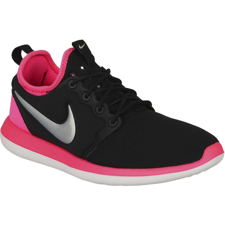 Zapatilla de Jovencita Nike negro / rosado roshe two gg