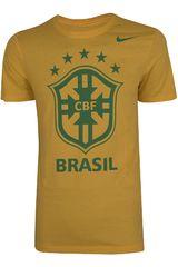Nike Amarillo de Hombre modelo CBF CORE CREST TEE Deportivo Polos Running Training Hombre Ropa