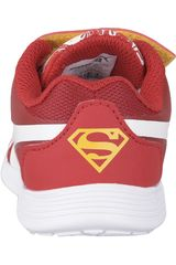edd47527f Zapatilla de Niño Puma Rojo   Blanco superman st trainer evo street ...