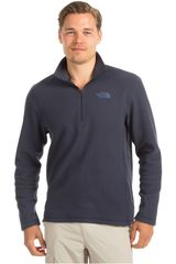 Casaca de Hombre The North Face M TKA 100 GLACIER 1/4 ZIP Azul