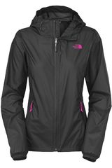Casaca de Mujer The North Face W CYCLONE HOODIE Gris Oscuro
