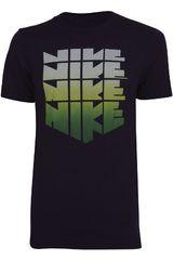 Polo de Hombre Nike RU HOLLISTER SUNSET STACK TEE Morado