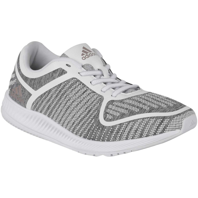 on sale 11d4a 3d81c Zapatilla de Mujer Adidas Gris  blanco athletics bounce w