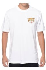 Polo de Hombre Nike DF SB CAT SCRATCH TEE Blanco