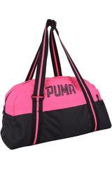 Bolso de Mujer Puma FUNDAMENTALS SPORTS BAG Fucsia / Negro