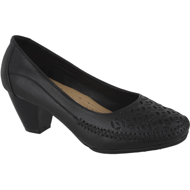 Calzado de Mujer Limoni - Cuero Negro c-v-regi03