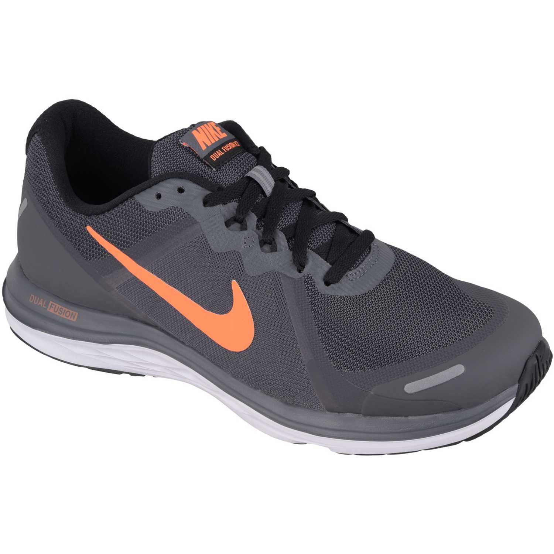 4f02dd8c1b4 Zapatilla de Hombre Nike Gris Oscuro dual fusion x 2