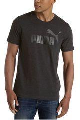 Puma Gris Oscuro de Hombre modelo ESS NO.1 TEE Running Polos Deportivo Ropa Hombre Training