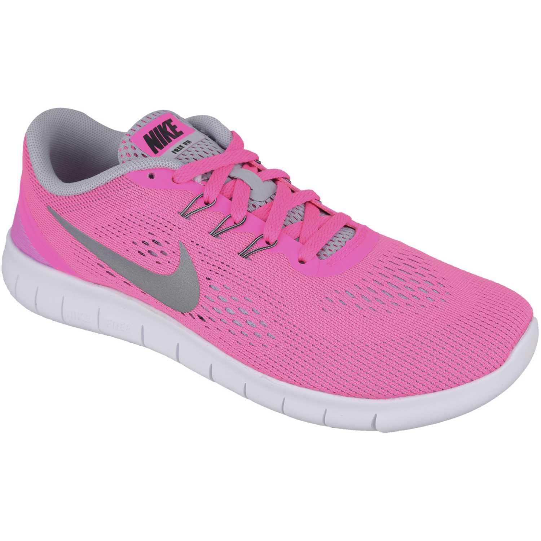 Zapatilla de Mujer Nike Rosado / Blanco free rn gg
