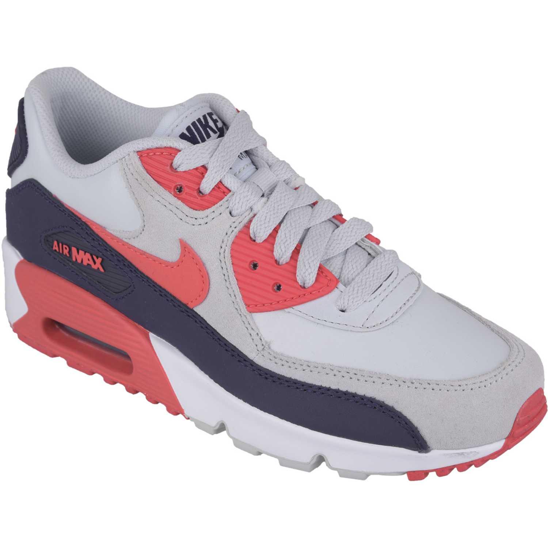 c7b2f878ec Zapatilla de Mujer Nike Gris / Coral air max 90 ltr gg | platanitos.com