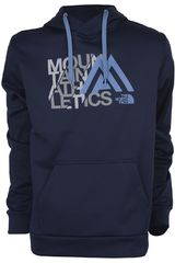 Casaca de Hombre The North Face M MA GRAPHIC SURGENT HOODIE Azul