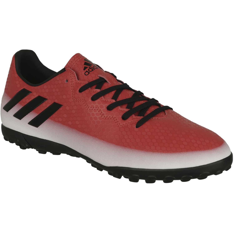 Zapatilla de Hombre adidas Rojo   Blanco messi 16.4 tf  8864d7aeb4371