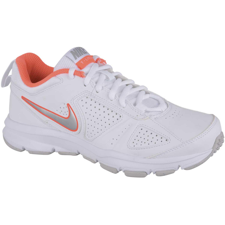 Zapatilla de Mujer Nike Blanco / Naranja wmns t-lite xi sl