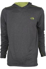 Casaca de Hombre The North Face M REACTOR HOODIE Gris / Verde