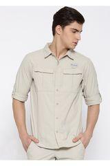 Camisa de Hombre COLUMBIA CASCADES EXPLORER LO CON PROTC UV30 Beige