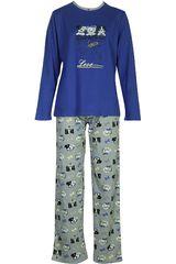 Pijama de Mujer Kayser 60.1070 Azul