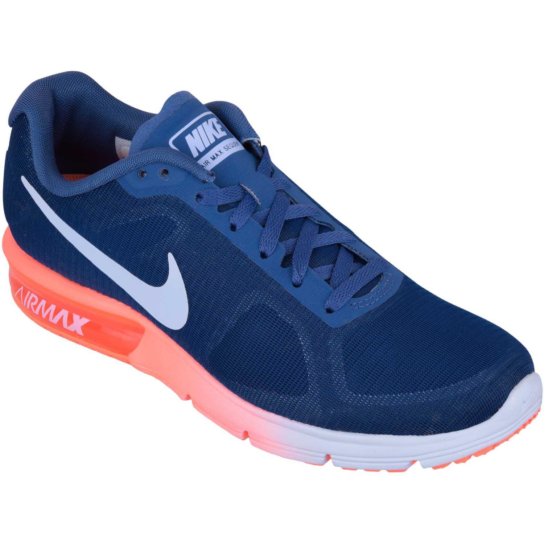 Zapatilla de Mujer Nike Morado / Naranja wmns air max sequent