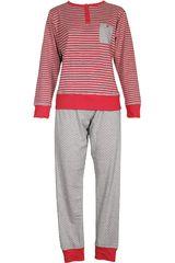 Pijama de Mujer Kayser 60.1071 Rojo