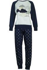 Pijama de Mujer Kayser 60.1072 Azul