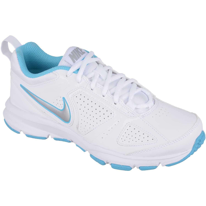 Zapatilla de Mujer  Nike wmns t-lite xi sl Blanco / Turquesa, Material: Sintetico, Color: Blanco / Turquesa, Taco: 1 cm, Forro: Textil, Planta: Sintético, Plantilla: Textil.