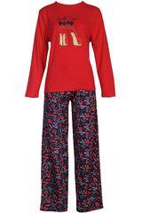 Pijama de Mujer Kayser 60.1077 Rojo