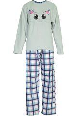 Pijama de Mujer Kayser 60.1085 Gris