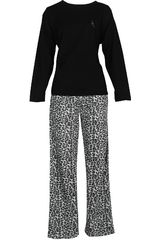 Pijama de Mujer Kayser 60.1127 Negro