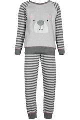 Pijama de Niña Kayser 63.1093 Gris