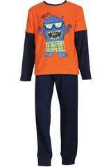 Pijama de Niño Kayser 64.1019 Anaranjado