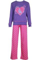 Pijama de Niña Kayser 65.1092 Morado
