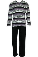 Pijama de Hombre Kayser 67.1003 Negro