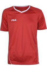 Camiseta de Hombre Fila LINEA Rojo