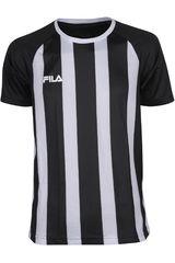 Camiseta de Hombre Fila WINNER II - VF16 Negro / Blanco