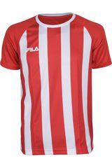 Camiseta de Hombre Fila WINNER II - VF16 Rojo / Blanco