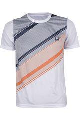 Camiseta de Hombre Fila SET - VF15 Blanco