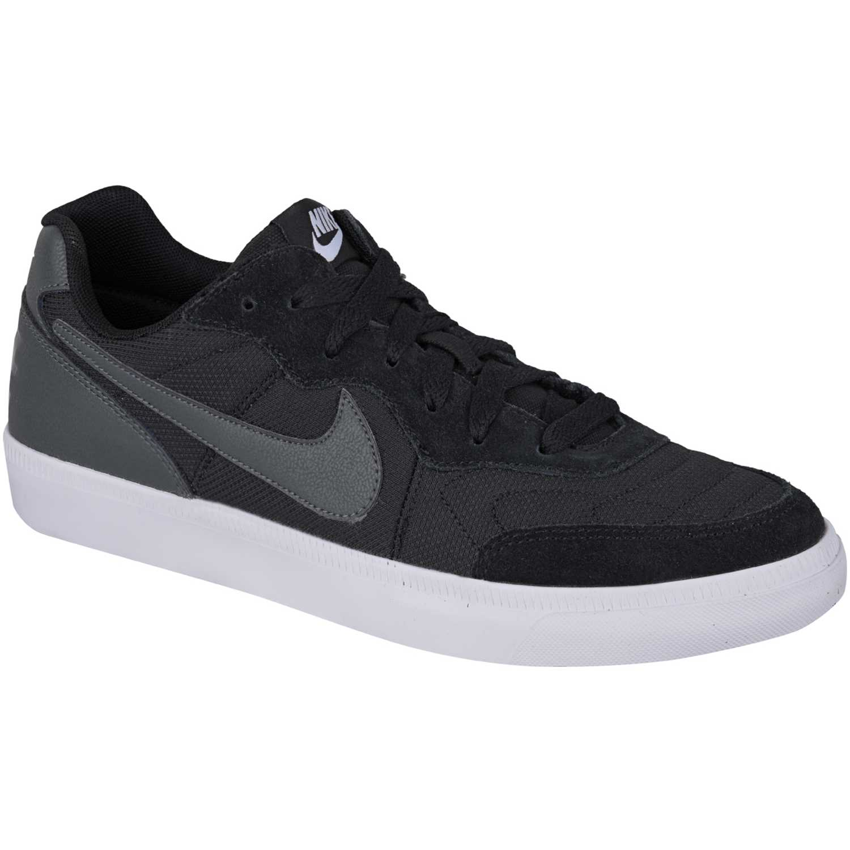 Zapatilla de Hombre  Nike nsw tiempo trainer Negro /Gris, Material: Textil-cuero, Color: Negro /Gris, Taco: 1 cm, Forro: Textil, Planta: Sintético, Plantilla: Textil.
