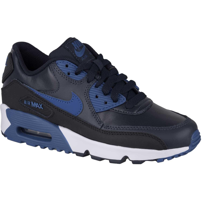 8f19c89c91 Zapatilla de Mujer Nike Azul / Negro air max 90 ltr bg | platanitos.com