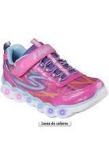 Zapatilla de Niña Skechers LUMOS 10613L - CON LUCES Rosado