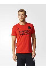 adidas Rojo de Hombre modelo TANC JERSEY Polos Deportivo
