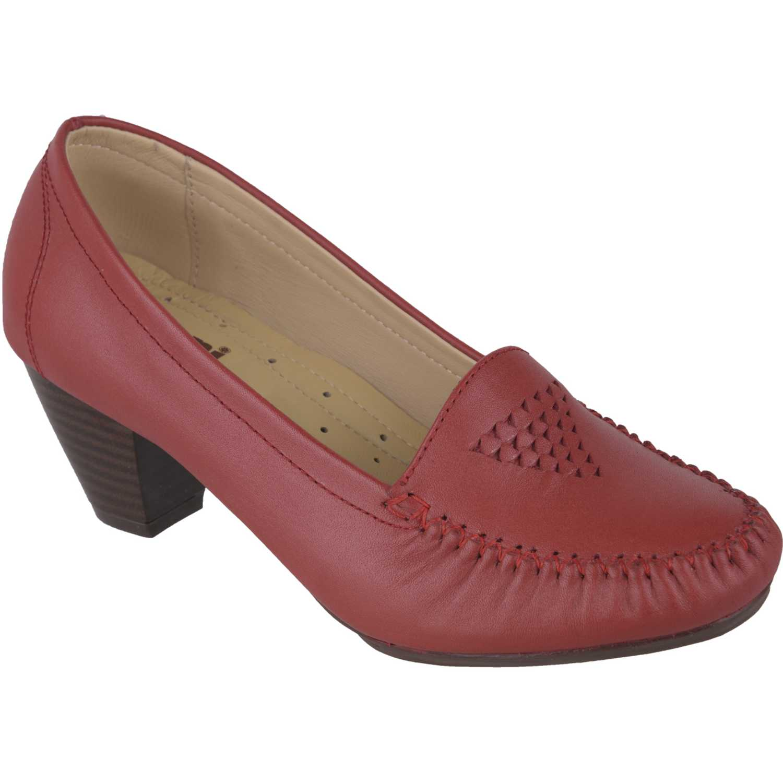 Calzado de Mujer Limoni - Cuero Rojo c 411704